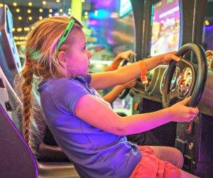 Go old school at the Neon Retro Arcade. Photo by Nicole Saiza Photography
