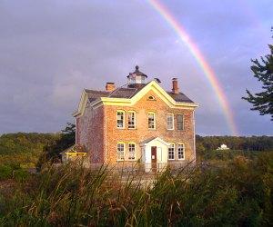 The Saugerties Lighthouse is a stunning getaway no matter the season.
