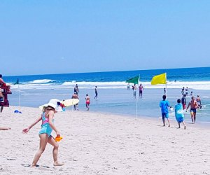 The beautiful water and white sand beaches of Long Beach Island keep visitors coming back year after year. Photo courtesy of LBI
