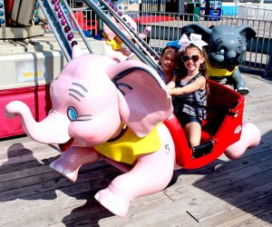 Kids will be thrilled with the new rides at Casino Pier. Photo courtesy of Casino Piers