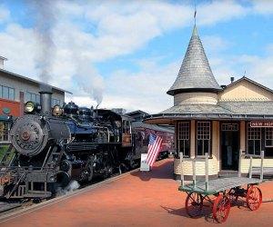 All aboard the New Hope Railroad! Photo courtesy of New Hope Railroad