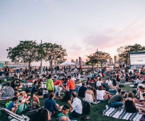 Hudson RiverFlicks Kids. Photo courtesy of Hudson River Park