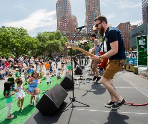 Dance to your heart's content at free concerts at Citi Summer in the Square. Photo by Liz Ligon