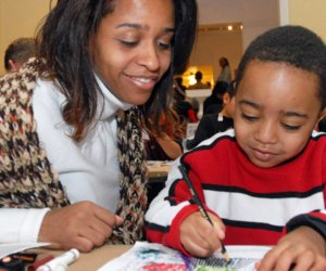 Keep your kids busy with the holiday fun drop-in activities Wednesday-Sunday of vacation week. Photo courtesy of The Newark Museum