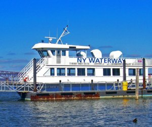 New York Waterway Ferries take you from Beacon to Newburgh things to do in Beacon with kids
