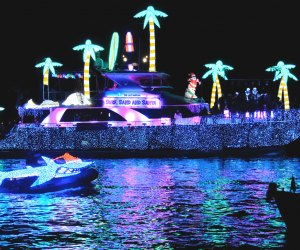 Newport Beach Holiday Boat Parade. Photo by Trent Bell