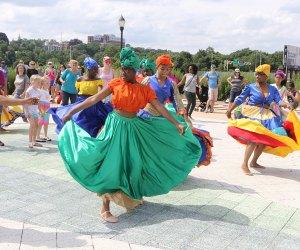 Festival dancers. Photo courtesy of NICE Festival