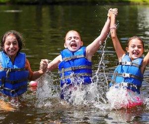Jeff Lake Day Camp, located in beautiful Sussex County, New Jersey, offers an exciting, creative, summer day camp experience for children. Photo courtesy of the camp