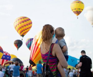Catch the eye-popping display at the New Jersey Lottery Festival of Ballooning when it takes flight July23-25. Photo courtesy of the festival