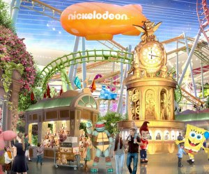 Meet SpongeBob, Teenage Mutant Ninja Turtles, and other favorite characters at Nickelodeon Universe.