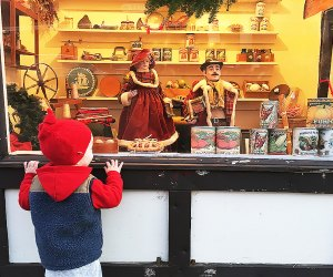 The sweet Dickens Village in Maplewood is the perfect outing for little visitors. Rose Gordon Sala