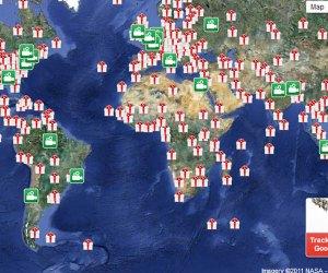 NORAD tracks Santa on Christmas Eve