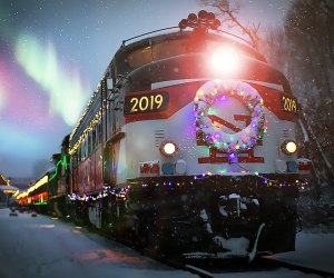 Christmas Train Displays In New Your City 2020 Polar Express and Santa Trains Near NYC This Holiday Season