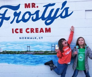 Explore the friendly, coastal New England town of Norwalk, Connecticut, with it's well-known aquarium and kid-friendly eat, no car required. Photo by Ally Noel