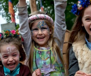 Travel back in time to Elizabethan England and enjoy 30 acres of games, rides, arts, crafts, food music, and dance at the New York Renaissance Faire. Photo courtesy of the faire