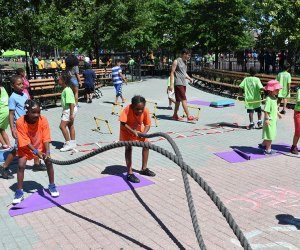 The NYC Parks Department summer camp lottery is now open and the cost for the summer is just $25. Photo by Daniel Avila for NYC Parks