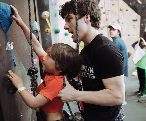 Get your climbing legs ready for Brooklyn Boulders. Photo courtesy of Brooklyn Boulders