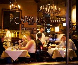 You can't go wrong with a trip to Carmine's. Photo courtesy of the restaurant