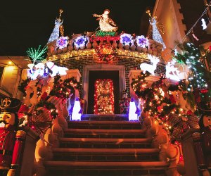 Extravagant displays are the norm at Dyker Lights