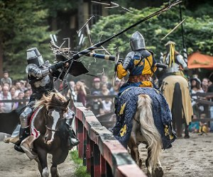 Travel back in time at the New York Renaissance Faire, one of our favorite fall festivals. Photo by Deborah Grosmark