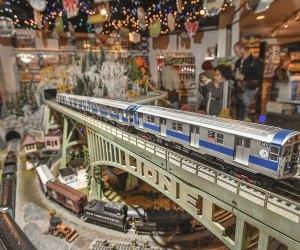 NYTM Holiday Train Show, 2016 - Photo by Patrick Cashin