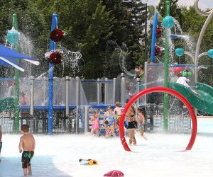 Splash Island in Oak Brook. Photo courtesy of the Oak Brook Park District