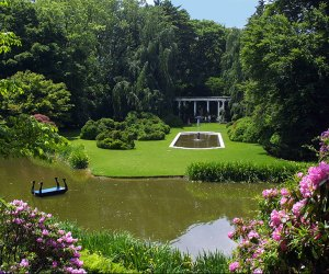 Nature's colors come alive at Old Westbury Gardens.