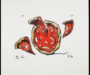 Claes Oldenburg, Flying Pizza, 1964