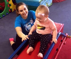 My Gym offers young children the chance to play and learn with their parents.