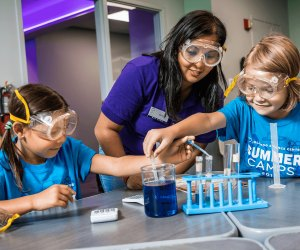 Hands-on experiments are often part of STEM camps. Photo courtesy of Orlando Science Center Camps