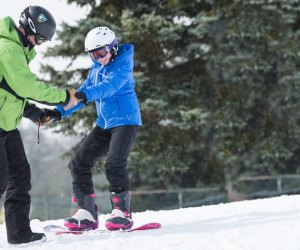 Ski lessons photo courtesy of Camelback Mountain Resort