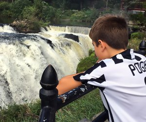 Get a great view of the falls from Mary Ellen Kramer Park.
