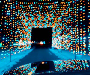 Holiday Lighr Drive-Thrus Peace Love and Lights at Bethel Woods
