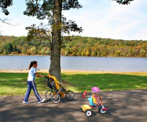 Peace Valley Park offers plenty of open space to enjoy fresh air and recreation. Photo by R. Kennedy for Visit Philadelphia
