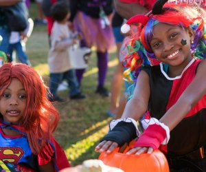 The City of Pearland Trick-or-Treat Trail is a fun free Halloween event near Houston. Photo courtesy of pearlandtx.gov