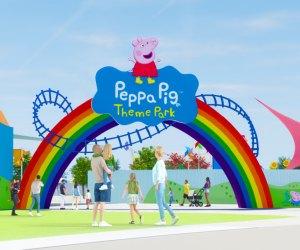 The new Peppa Pig theme park will open near Legoland Florida.
