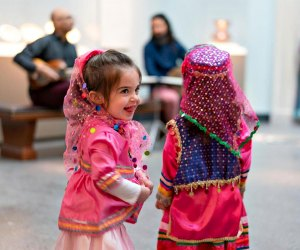Enjoy a Persian New Year festival, and don't forget your costume. Photo courtesy of National Museum of Asian Art
