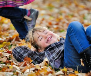 Fall Foliage near Los Angeles: Jump in the leaves!