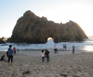 Watch the Sunset at Pfeiffer Beach in California. Photo courtesy of See Monterey