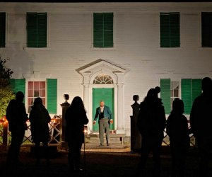 Phantoms and Fire is a new, live, outdoor event at Old Sturbridge Village. Photo courtesy of OSV
