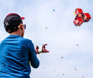 Watch your creation take flight at Avalon Park Kite Day. Photo by Rene Vincit/Unsplash