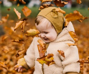 Things To Do With Los Angeles Babies: Find Fall Leaves