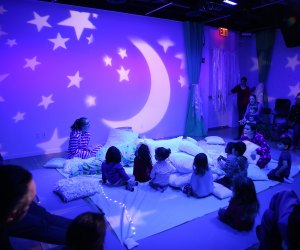Put on your coziest pajamas and head to Tribeca for New York City Children's Theater's production of Pillowland.
