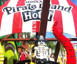 Florida's Legoland Pirate Island Hotel is a wonder of creativity. Photo courtesy author