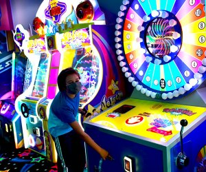 Hit the arcade and much more at Planet Play's indoor amusement center.