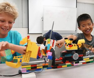 Play-Well Summer Camp offers LEGO-Inspired camps for kids in grades K-8.