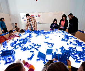 Put your hands and minds to work at Play, Work, Build at the National Building Museum. Photo by Anne McDonough