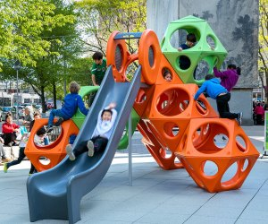 Boston Playgrounds with Brain-Boosting Fun: Uncle Frank and Auntie Kay Chin Park