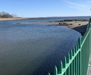 Playland Boardwalk Rye Westchester winter walks