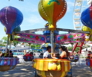 Rye Playland is always a hit! Photo by Susan Miele